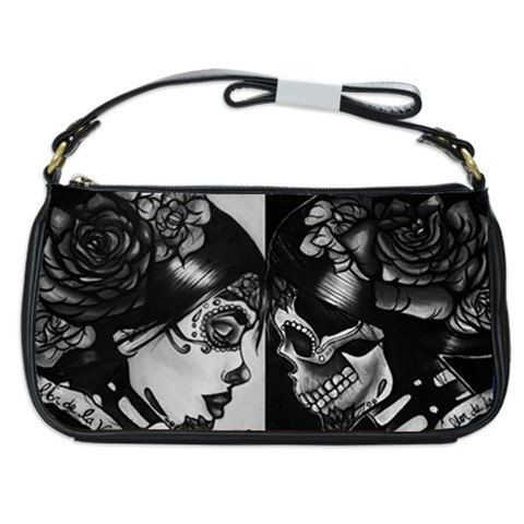 Coin Pouch Black Sugar Skulls Canvas Coin Purse Cellphone Card Bag With Handle And Zipper