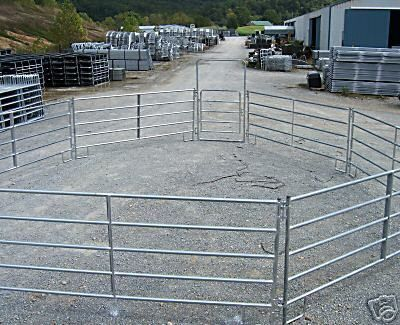 Horse Fence Round Pen Arena Corral Panel And Farm Gates