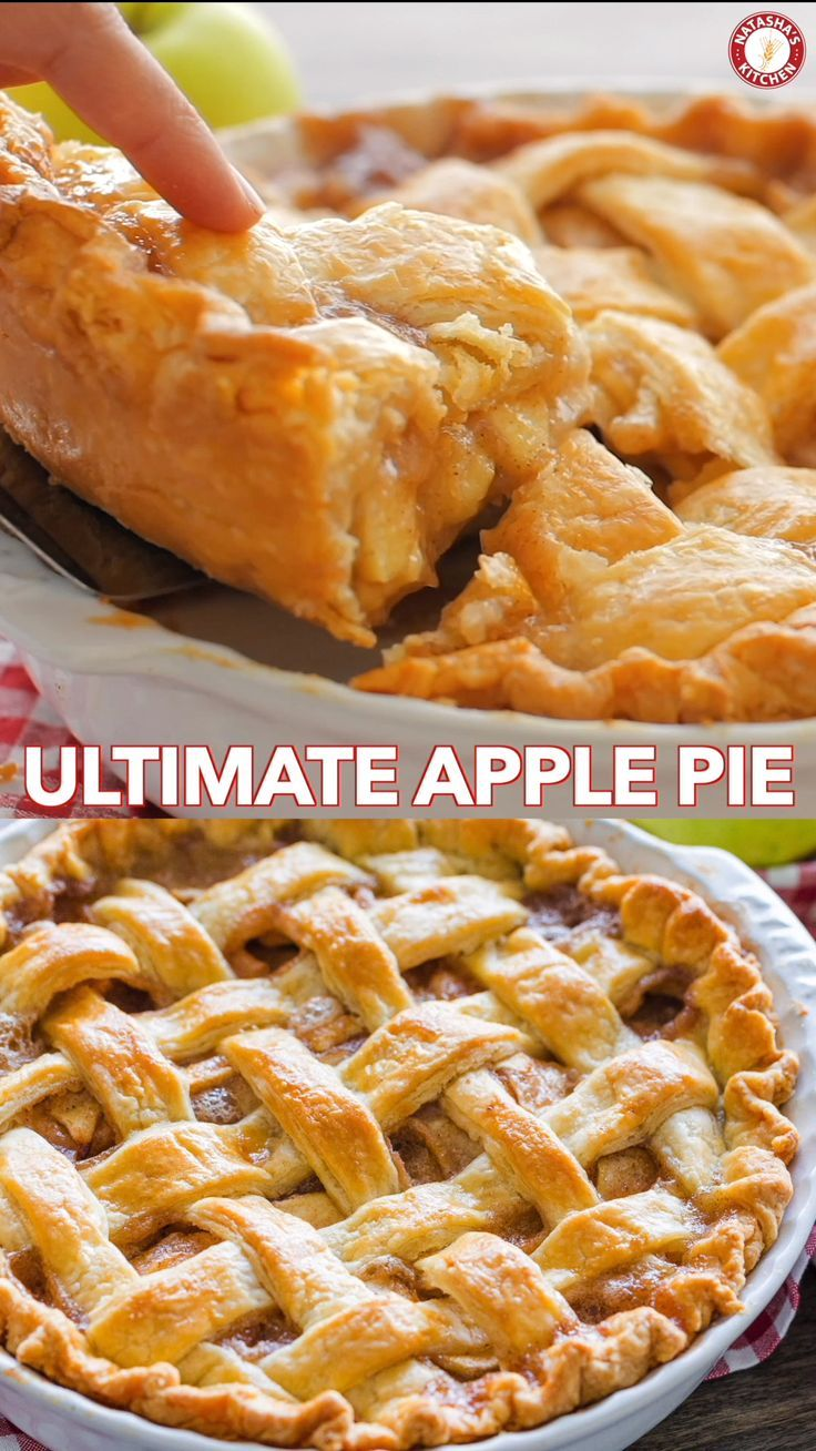 Apple Pie Recipe with the Best Filling (VIDEO) - N