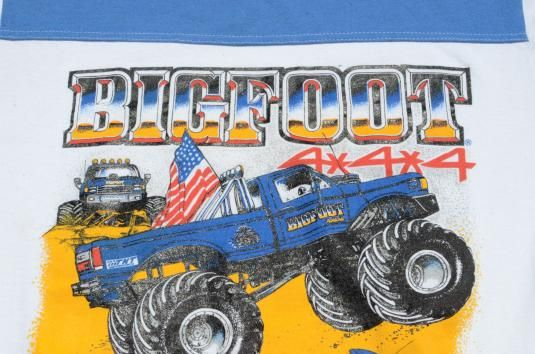 81cc4bc310b Bigfoot Monster Truck.