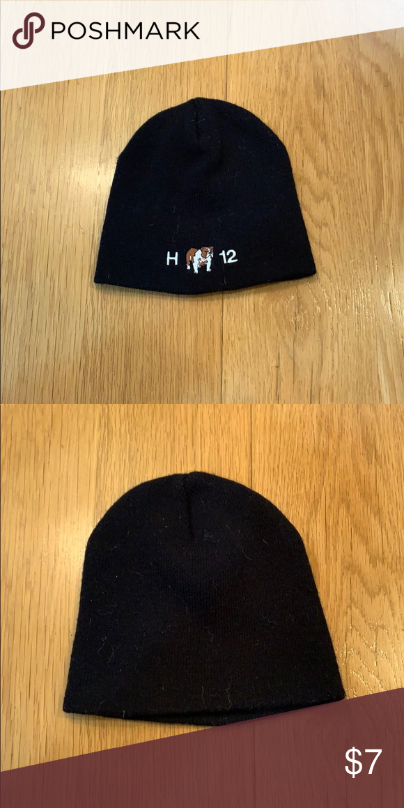 2d58b784216ddd Black men's Winter Beanie Hat Black men's Winter Beanie Hat Never Worn H12  BullDog Accessories Hats
