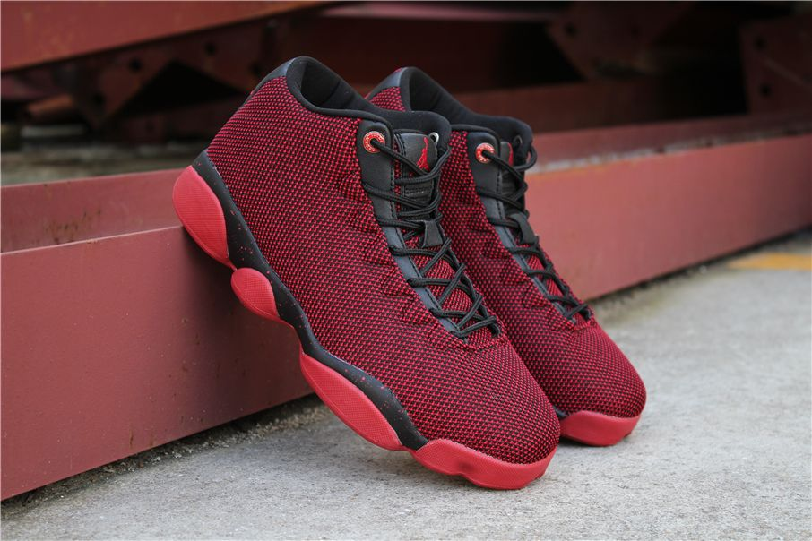 New Air Jordan Horizon Low AJ13 Gym Red Black Men s Size 845098-001 ... 16323d52b