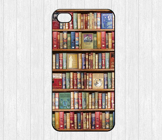 Bookshelf IPhone 4 CaseBook Library 4g 4s By Ihomegift 699