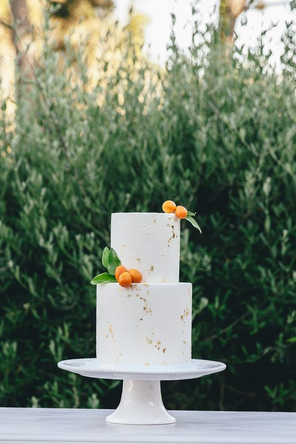 A Citrus Inspired Summer Wedding