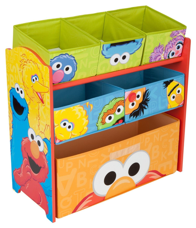 Sesame Street Multi Bin IOrganizer $39 34 & FREE Shipping 5