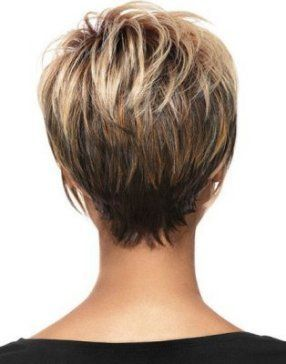 Short Hairstyles For Over 50 Back View
