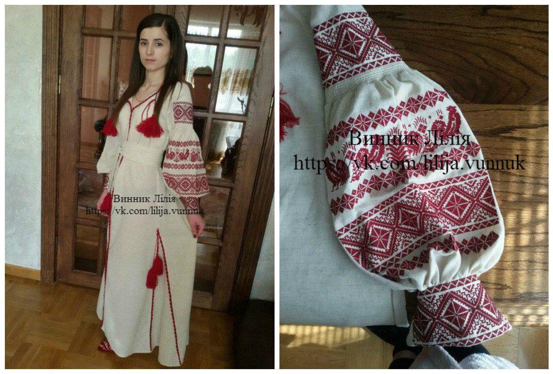 Вишиті плаття-бохо  42086fcdecc75