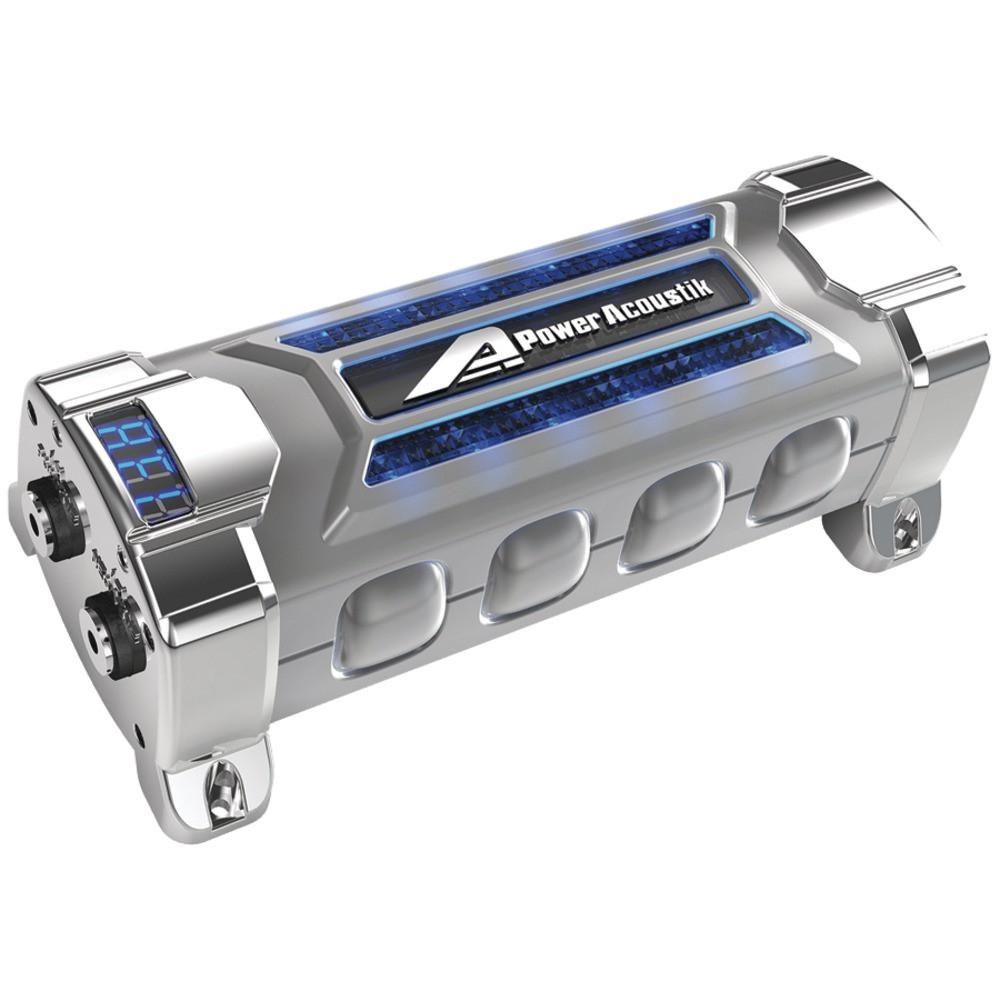 Power Acoustik 3 Farad Digital Capacitor Products