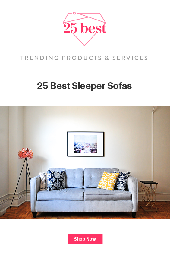 25 Best Sleeper Sofas: Find The Perfect Apartment Size
