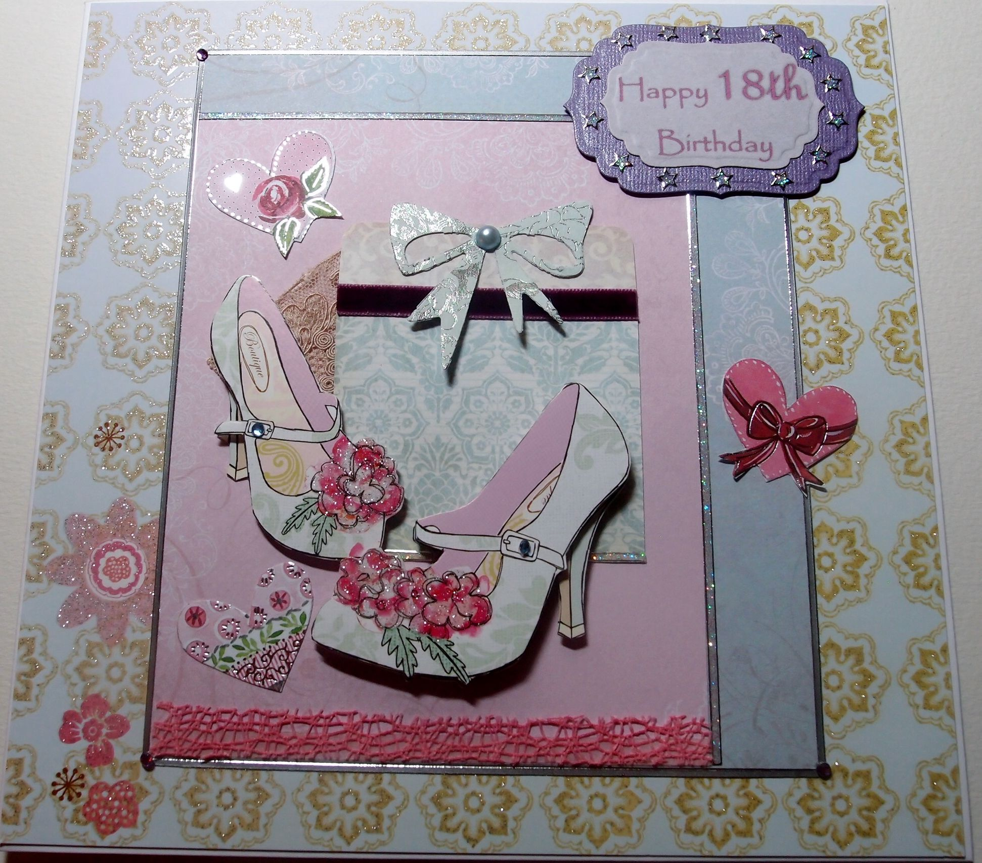 18th Birthday Cards, Birthday Cards For Women, Cards