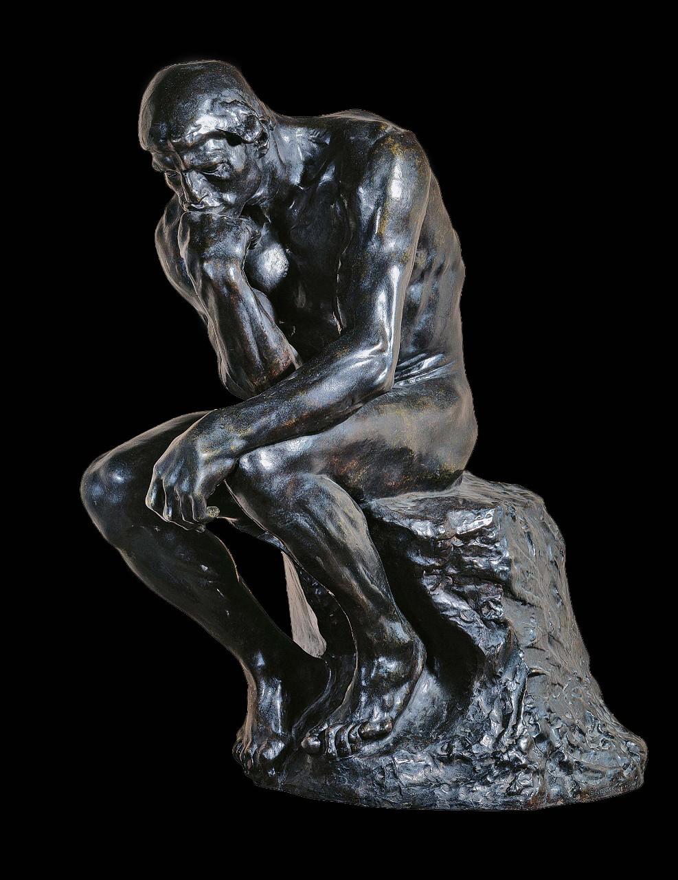 Le Penseur De Rodin Dessin : penseur, rodin, dessin, Auguste, Rodin,, Penseur