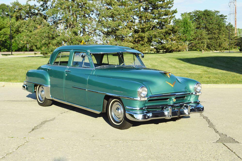 1952 Chrysler Saratoga 4 Door Sedan Chrysler Saratoga