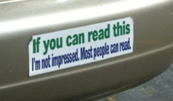 Honk if you love these hilarious bumper stickers neatorama