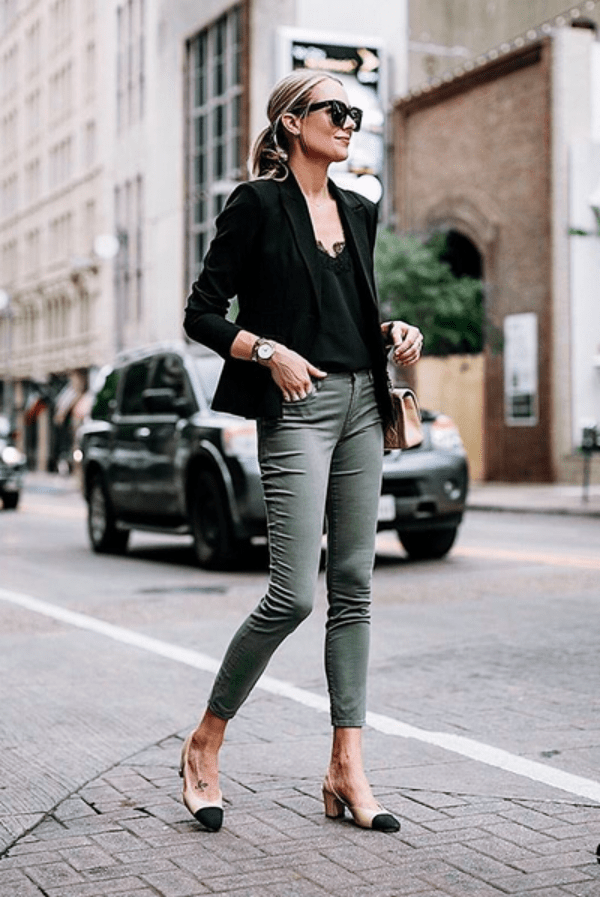 45 Trendy Business Casual Work Outfits for Women - OutfitCafe #businesscasualoutfitsforwomen Business Casual Work Outfits for Women. #outfits #outfitideas #fashion #style #casual #casualstyle #outfitcafe #businesscasualoutfitsforwomen