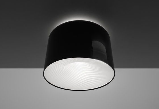 Polinnia ceiling lamp by artemide ceiling mounted luminaire for