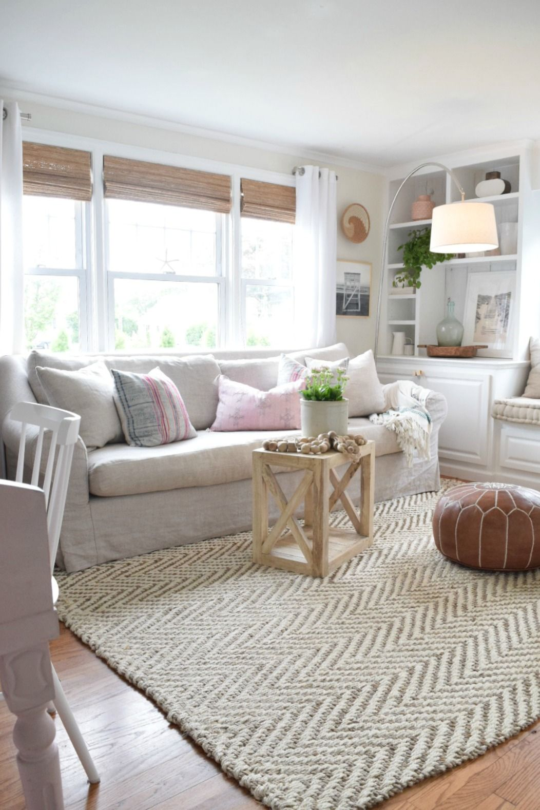 Jute Rug Review In Our Living Room Nesting With Grace Rugs In Living Room Jute Rug Living Room Family Room Design