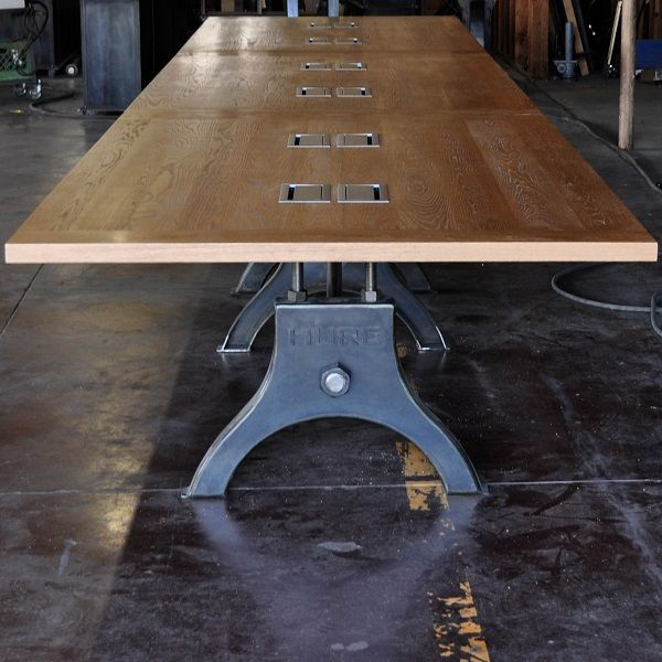 Hure Conference Table | Vintage Industrial Furniture