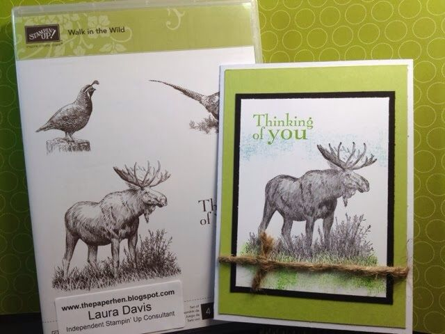 Stampin' Up walk in the wild - Homemade Cards, Rubber Stamp Art, & Paper Crafts - Splitcoaststampers.com