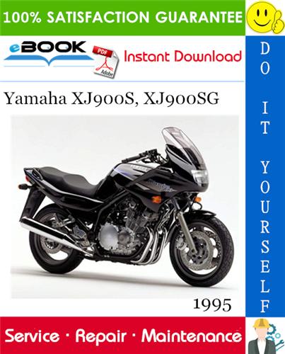 1995 Yamaha Xj900s Xj900sg Motorcycle Service Repair Manual Repair Manuals Yamaha Repair