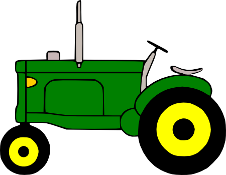 Free Svg File Tractor Tractors Digi Stamp Vinyl Projects