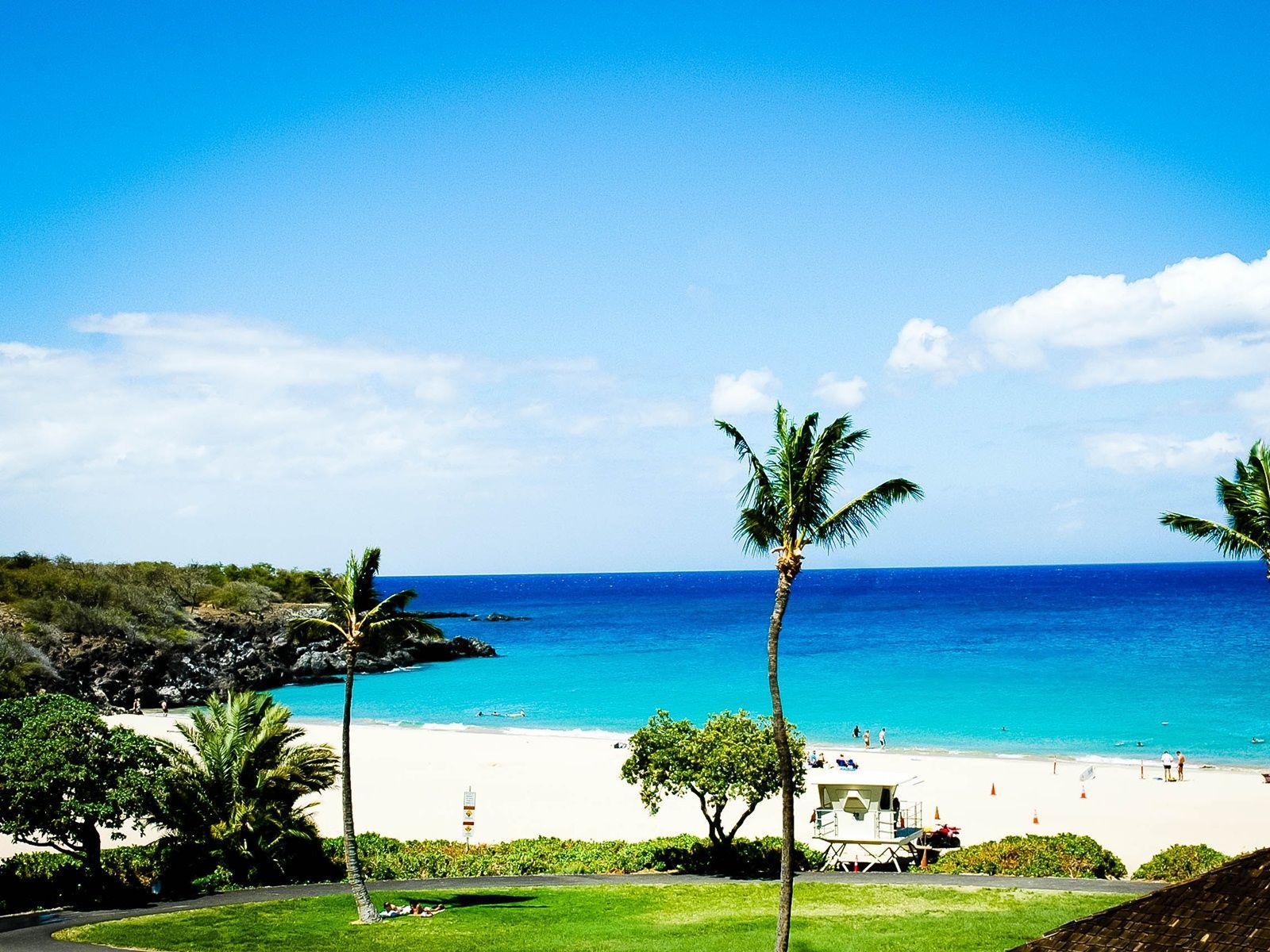 Hapuna Beach Island Hawaii I Ve Been Here It S The Most Beautiful Sand Is Like Cake Flour
