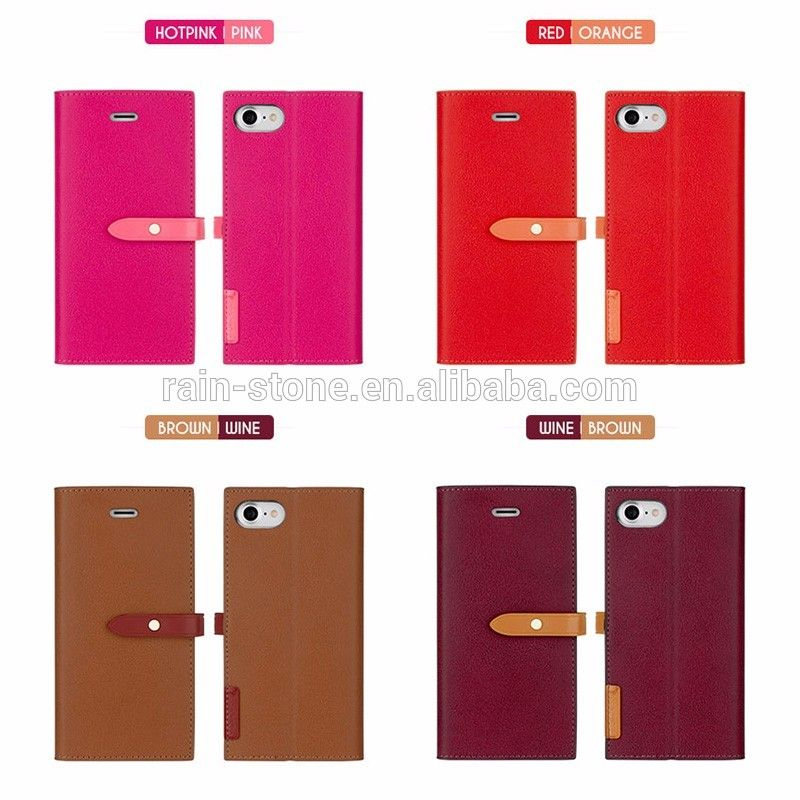2017 Low Price Trending Product Fashion Design Case For iPhone 6 plus,PU Leather Wallet Stand Case for iPhone 6 S plus