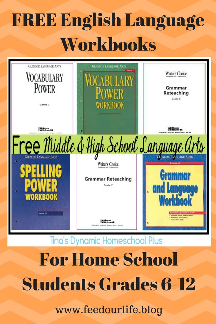 English Homeschool Resources Feed Our Life Vocabulary Workbooks 12th Grade English Grammar Workbook [ 1102 x 735 Pixel ]