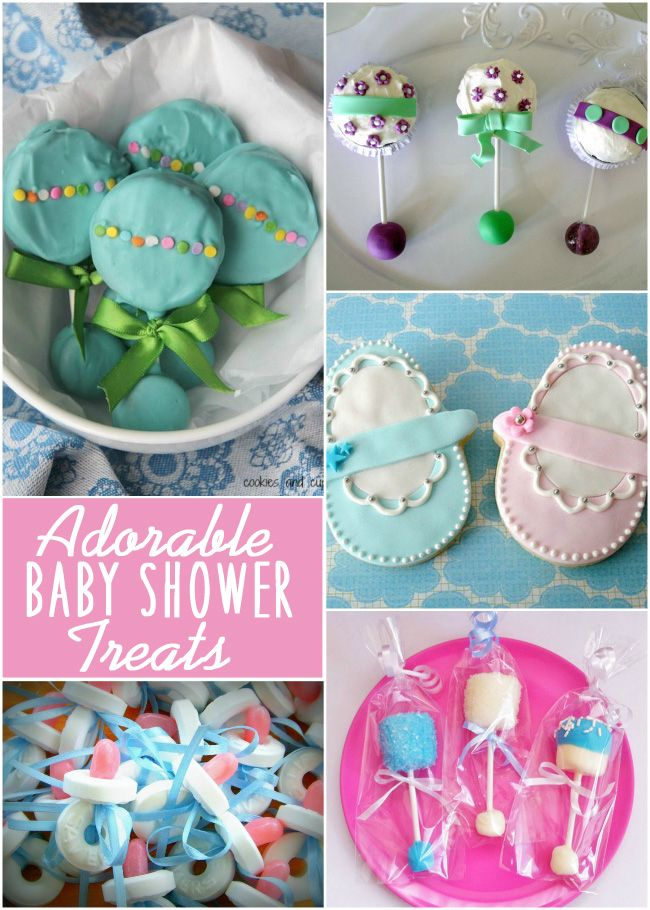 how to make baby shower treats