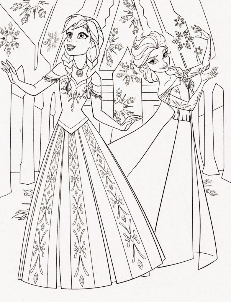 Coloring Rocks Elsa Coloring Pages Frozen Coloring Pages Disney Princess Coloring Pages