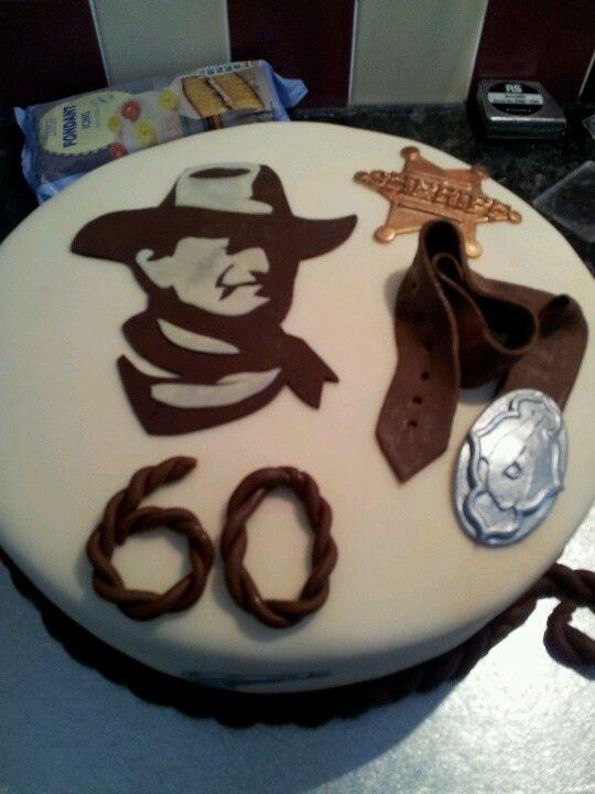 John Wayne Cakes In 2018 Pinterest John Wayne Birthday And Party