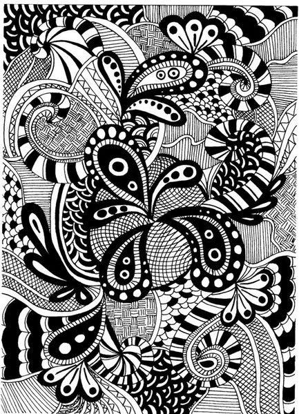 Zentangle Juliarunge Desenhos De Linha Arte Fixa Aula De Desenho