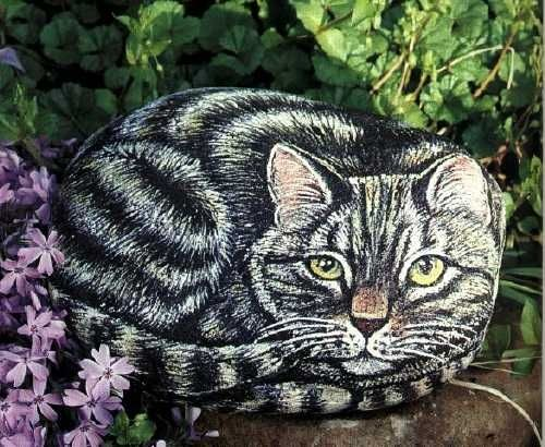 Gallery.ru / Фото #44 - Painting Pets on Rocks - galkin36