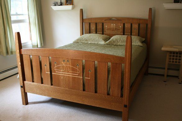 Custom Made Glasgow Bed