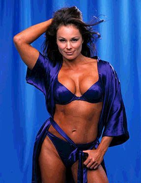 8240fbaed5b99 Former WWF WWE Diva Ivory amazing curved beauty. Lisa Moretti aka Ivory.  Also aka Tina Ferrari in GLOW