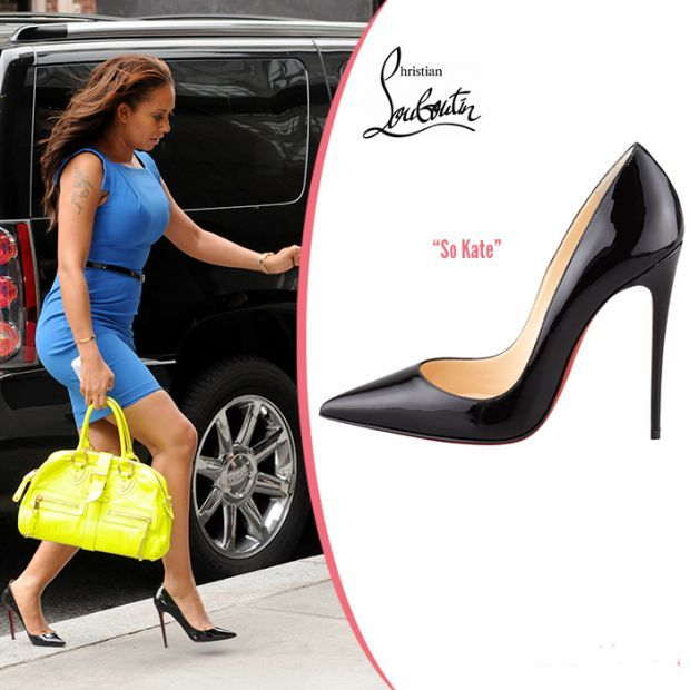 Classic in black: Great shoes of Mel B. A must have .