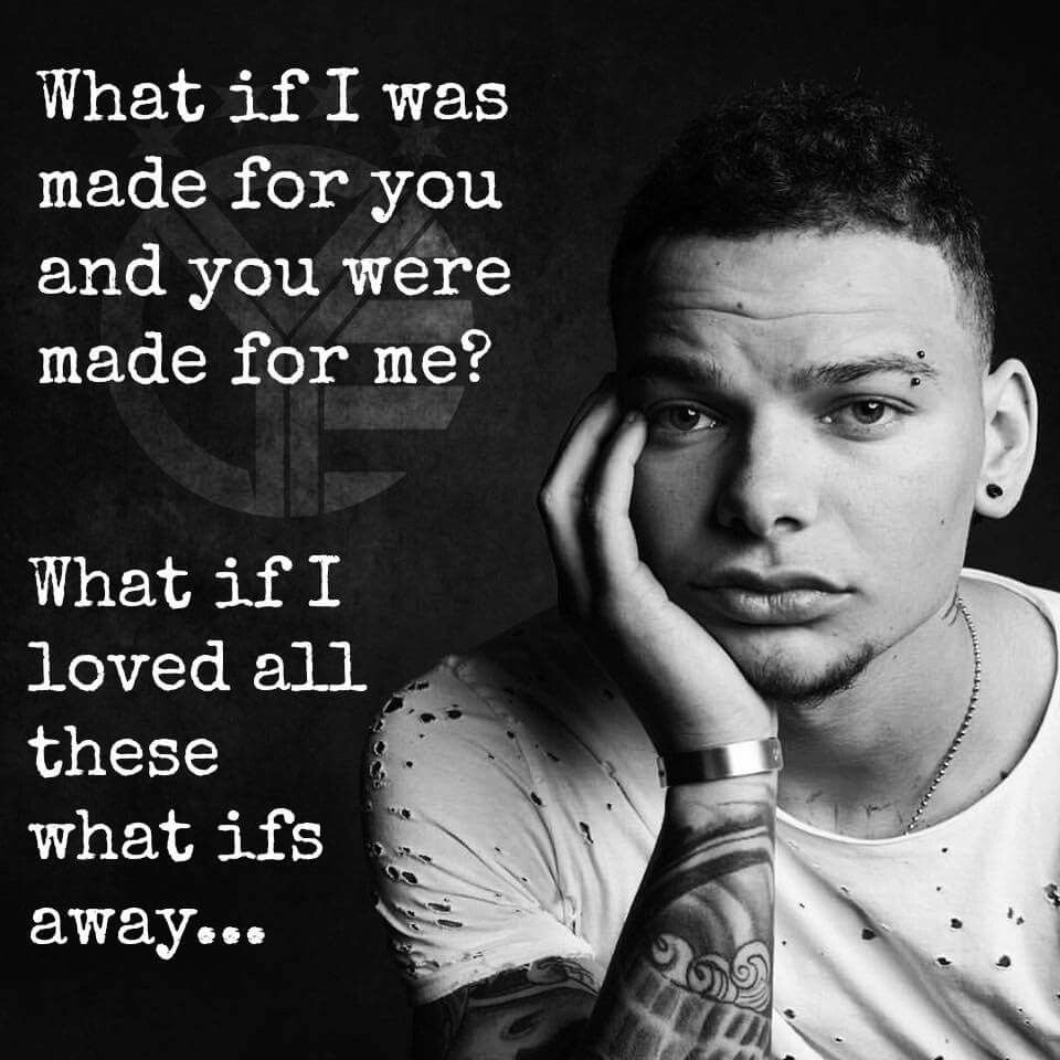 Kane Brown- What Ifs (ft. Lauren Alaina | Lyrics | Pinterest | Kane ...