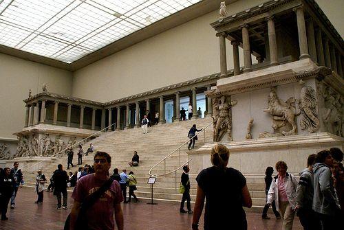 Berlin Pergamonmuseum Pergamonaltar Museum Island Pergamon Museum Pergamon