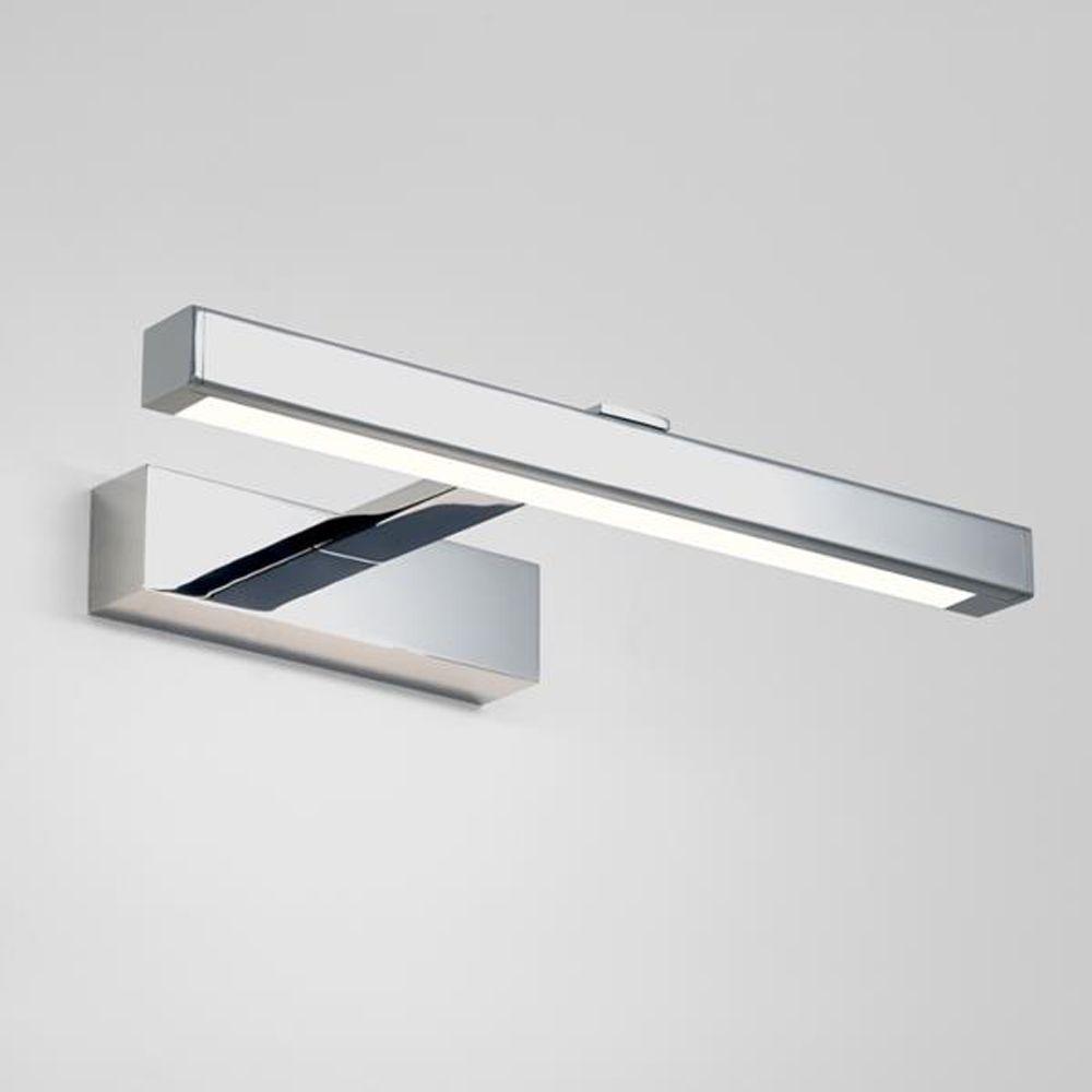 The Kashima 350 LED Bathroom Mirror Light has a Polished Chrome ...