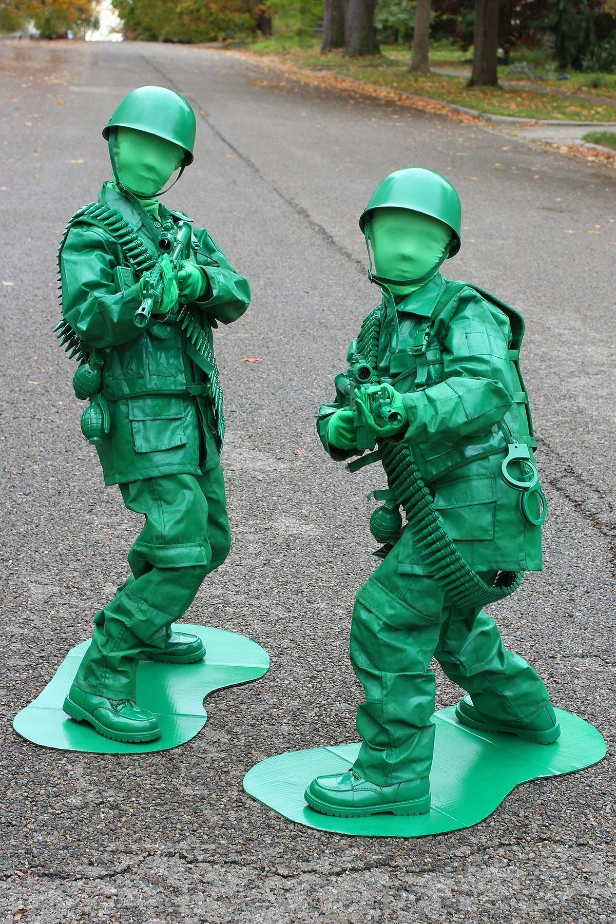 Mens Toy Soldier Fancy Dress Costume Military Army Outfit