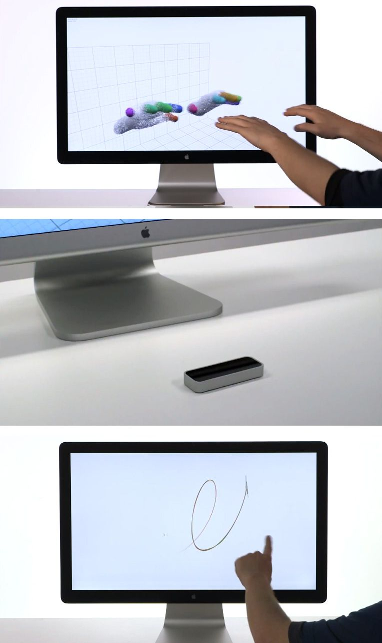 kiss your keyboard and mouse goodbye with the leap gadgets pinterest technik and ideen. Black Bedroom Furniture Sets. Home Design Ideas