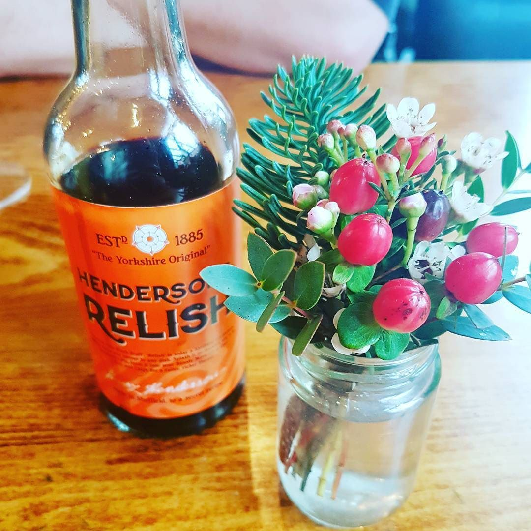 Enjoyed a Sunday Lunch & tried Hendersons Relish for the first time ever