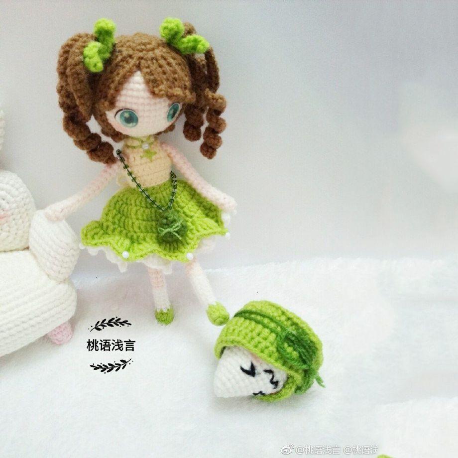 Doll china amigurumi - FREE Amigurumi Pattern | Uncinetto: Bamboline ...