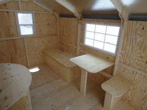 New 8' x 12' Ice Fishing Hut / Ss North Bay Ontario ... Ice Skid House Plans on storage shed foundation plans, trailer ice house plans, lift ice house plans, portable ice house plans,