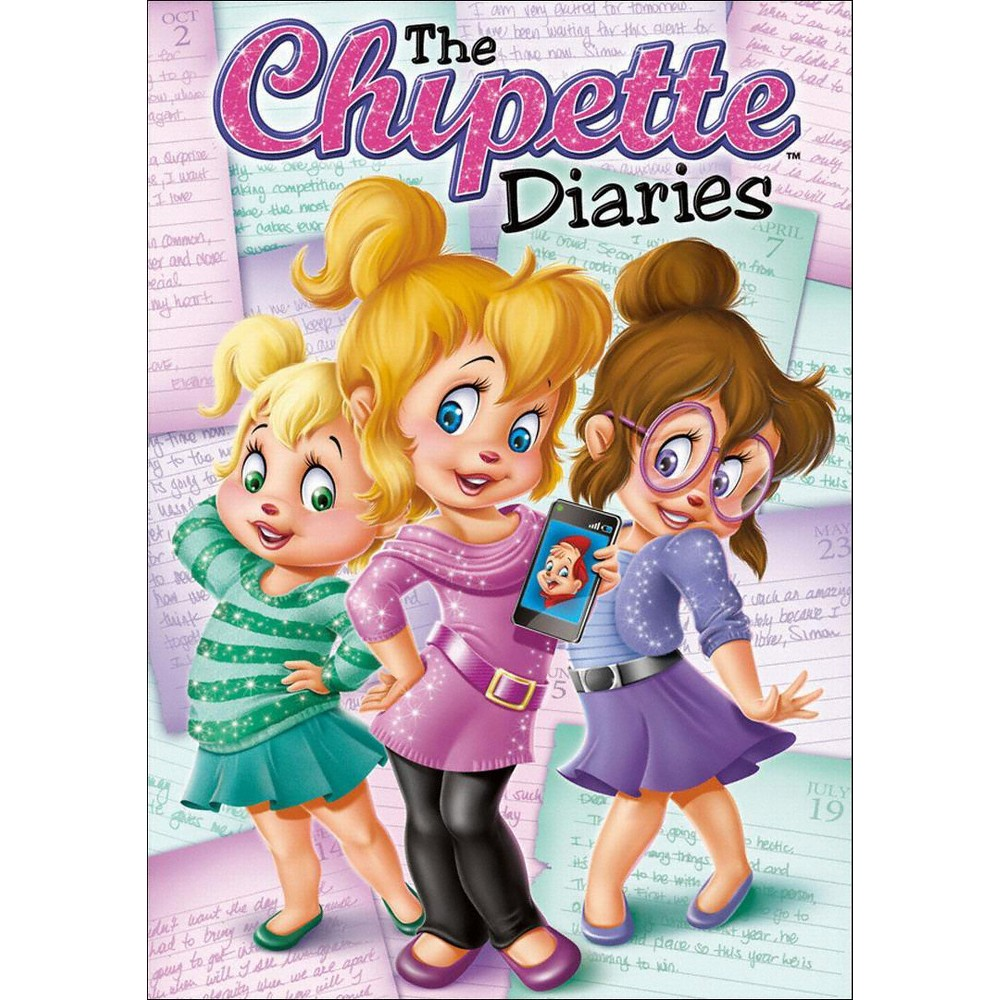 Alvin And The Chipmunks The Chipette Diaries Dvd Video Alvin
