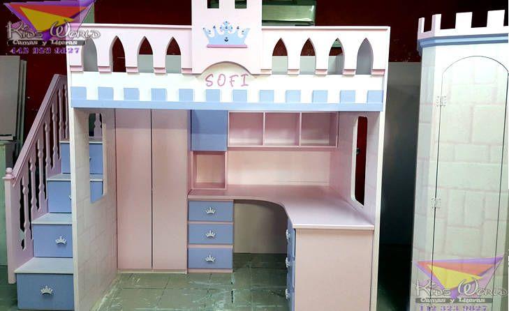 Busca imágenes de Recámaras de estilo clásico en rosa: Practica cama alta estilo castillo. Encuentra las mejores fotos para inspirarte y crea tu hogar perfecto.