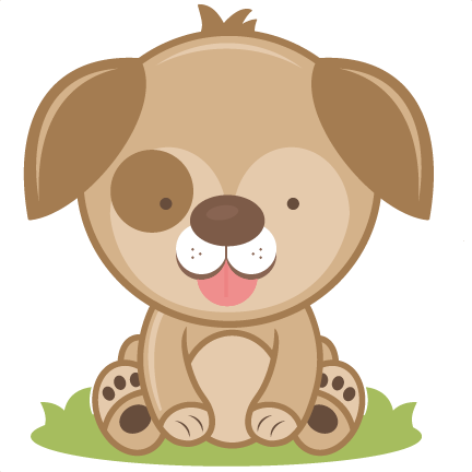 Puppy SVG Cutting File Svg Cut Dog Cute Clipart Free Svgs
