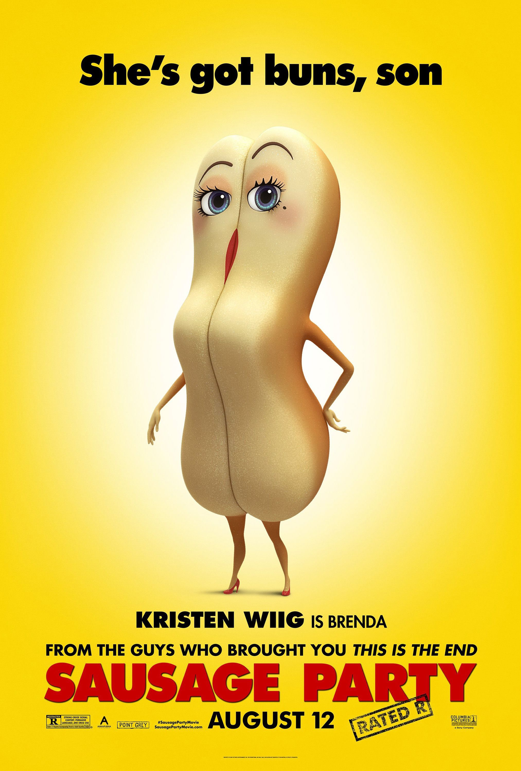 Return To The Main Poster Page For Sausage Party (#4 Of 15