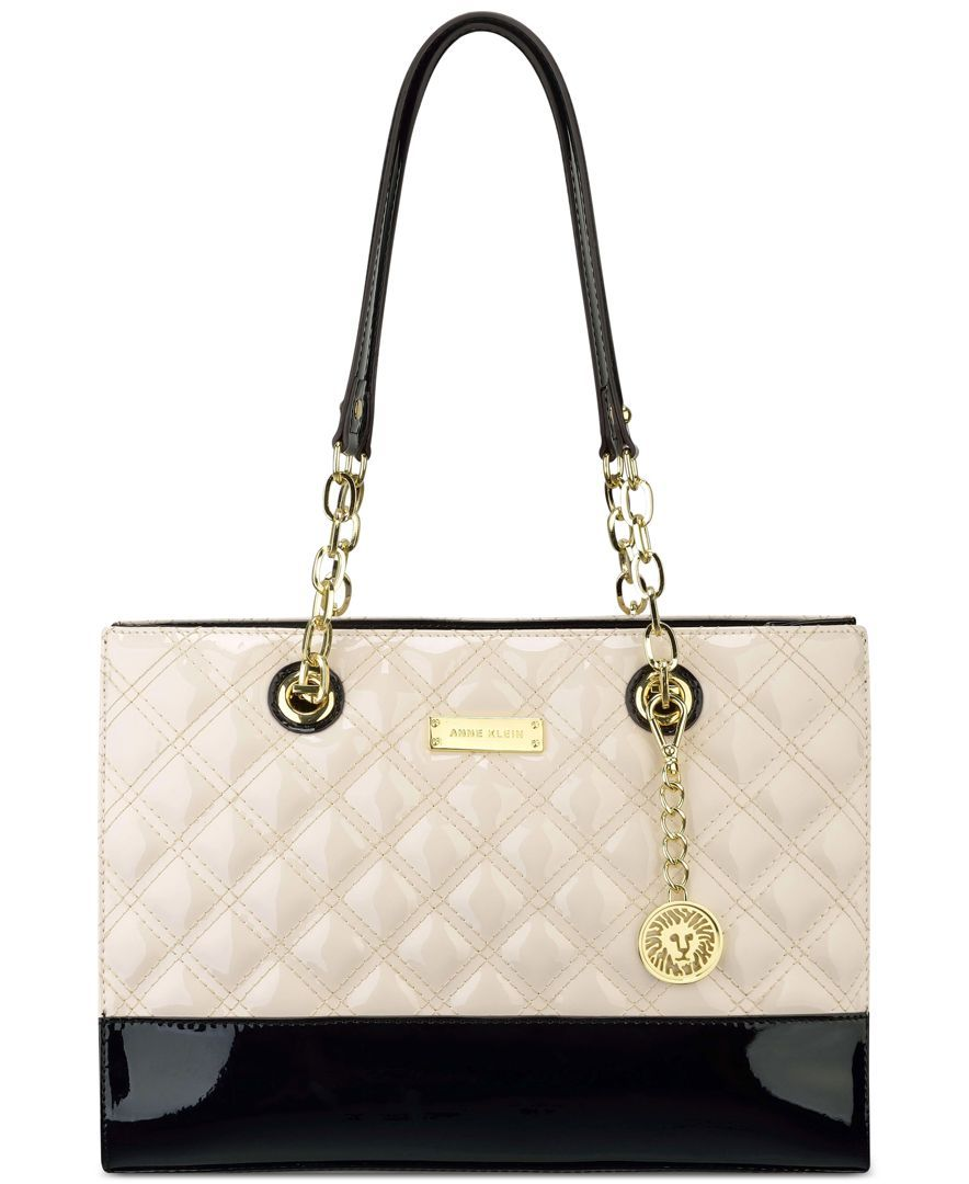 Anne Klein Handbag, Coast is Clear Small Chain Tote - Tote Bags - Handbags & Accessories - Macy's