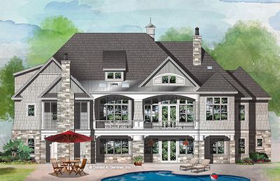 Home Plan The Sarafine By Donald A Gardner Architects