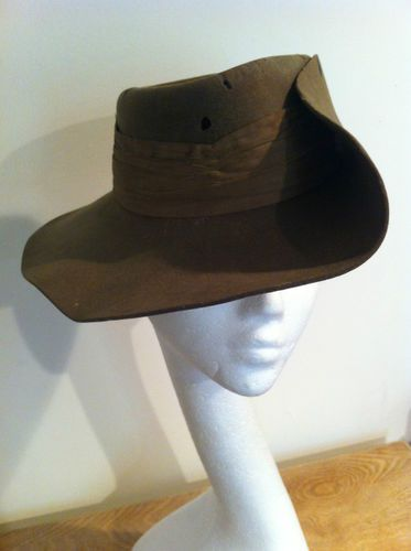 5f83e9950e1189 Burma Campaign British slouch hat | 14th Army,17 Indian Div,7 Indian ...